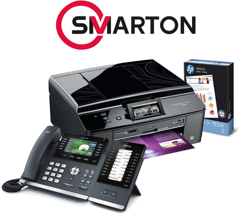 Smarton is the leading distributor of office supplies and office equipment