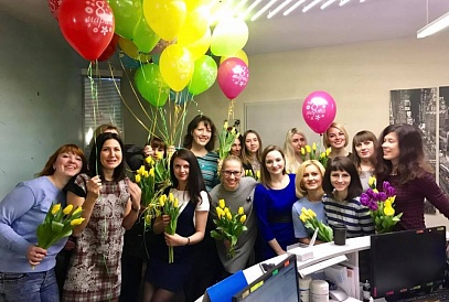 "Holiday of the International Women's Day in ""Ofiston"""